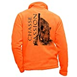 Pets-easy - Forro polar para caza (talla L), color naranja
