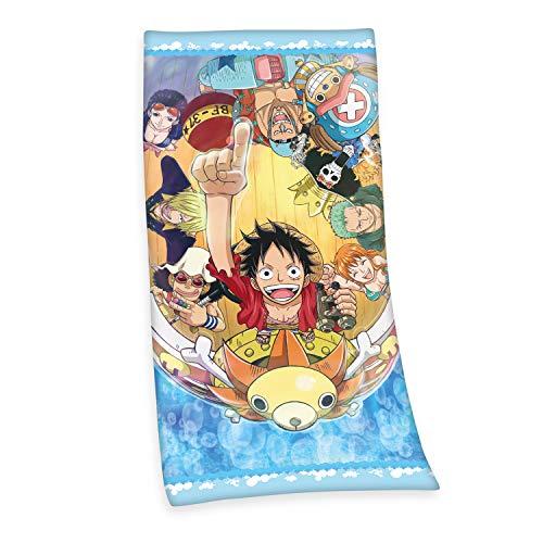 Herding One Piece - Toalla de Velur (poliéster, 75 x 150 cm