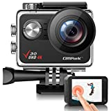<span class='highlight'><span class='highlight'>Campark</span></span> V30 Native 4K 20MP WiFi Action Camera Touch Screen EIS 30M Waterproof Camera with Adjustable View Angle, 2 1350mAh Batteries and Mounting Accessories Kit Compatible with gopro