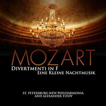 Mozart: Divertmenti in F - Eine Kleine Nachtmusik