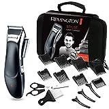 Remington HC363C Advanced Ceramic - Cortapelos profesional inalámbrico para cabello, cuchillas con revestimiento de cerámica avanzada, ocho peines