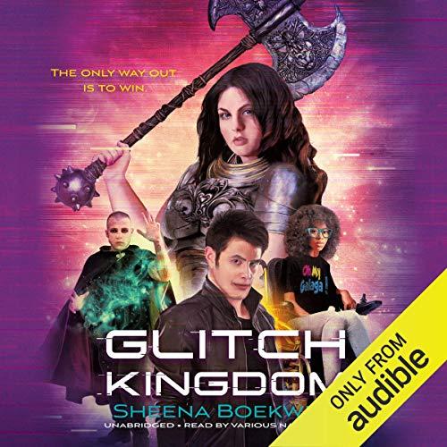 Glitch Kingdom audiobook cover art