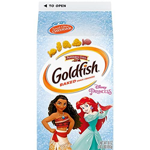 Special Edition Disney Princess Goldfish Snack Crackers