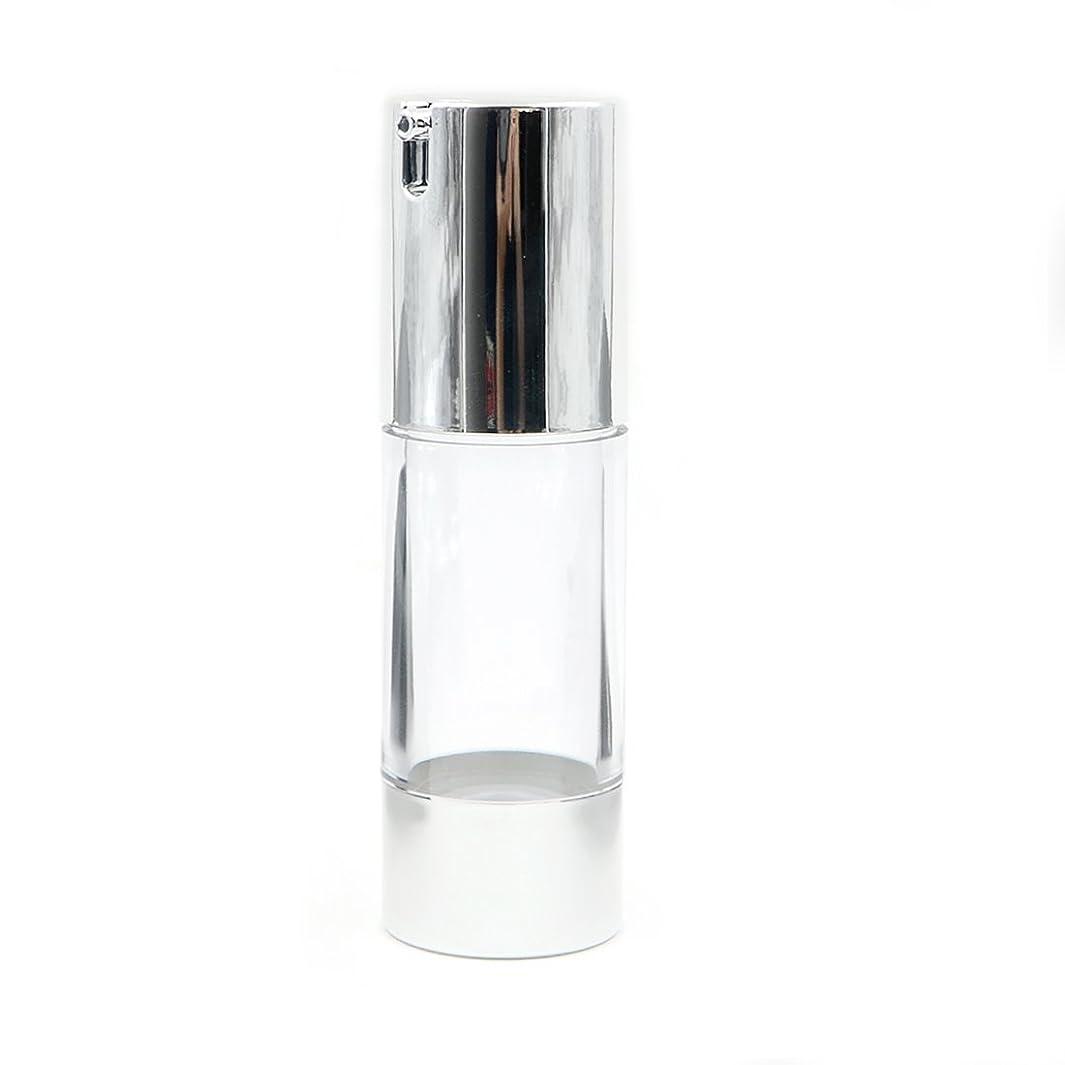 パースクレーター定説Angelakerry エアレス容器ホワイト30ミリリットル手作りコスメ手作り化粧品詰め替え容器10本セット[並行輸入品]