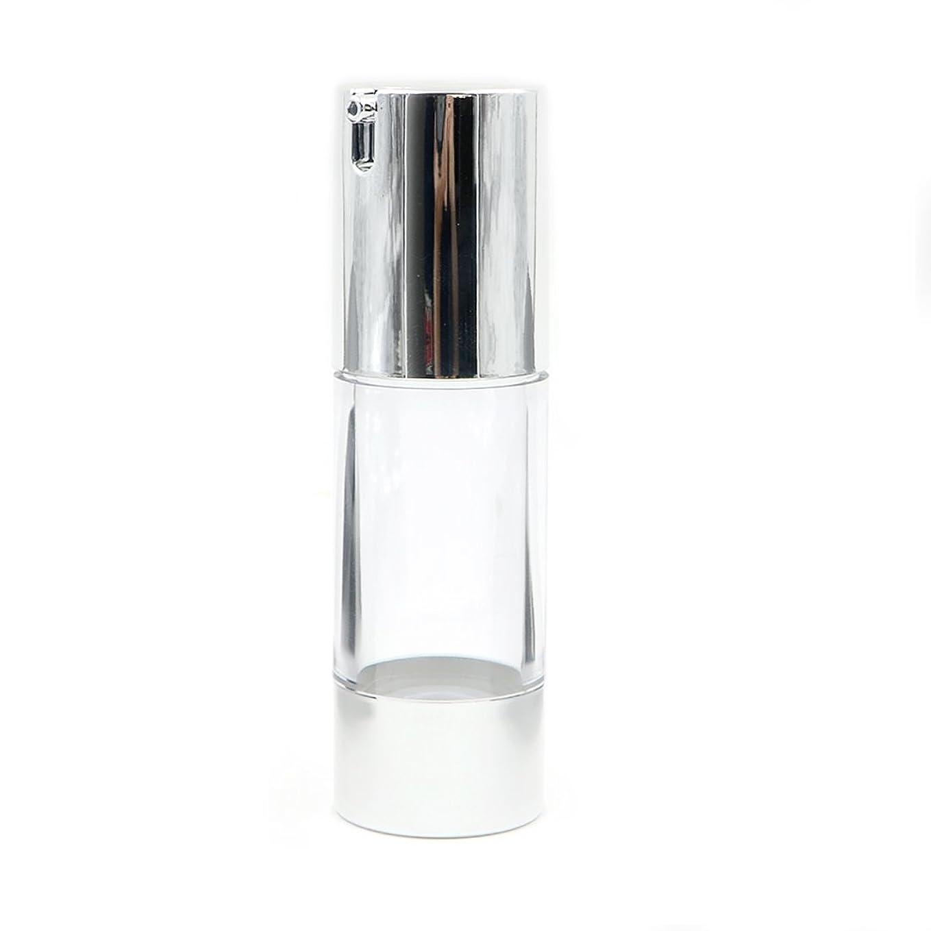 嘆く歯科のディスカウントAngelakerry エアレス 容器 ホワイト 30ml 手作りコスメ 手作り化粧品 詰め替え容器 20本セット [並行輸入品]