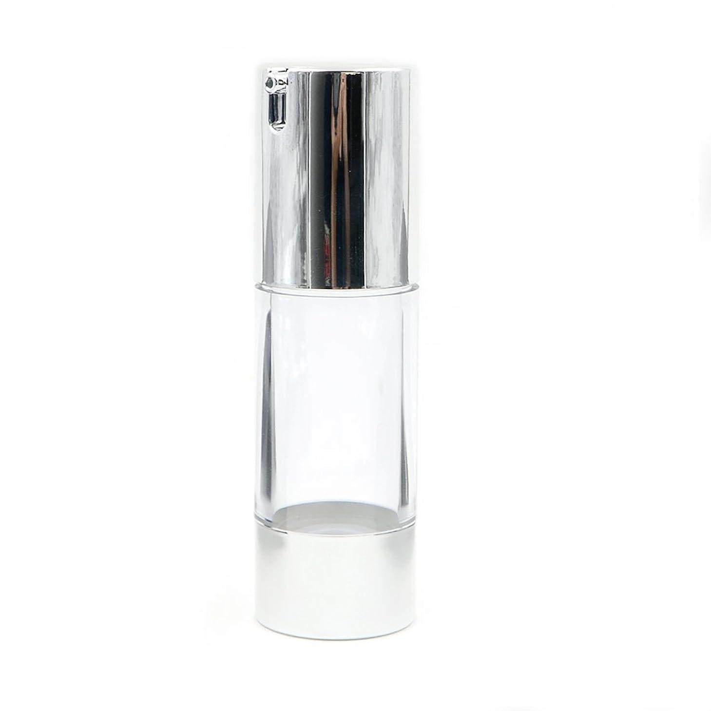 醸造所闘争サラダAngelakerry エアレス容器ホワイト30ミリリットル手作りコスメ手作り化粧品詰め替え容器10本セット[並行輸入品]