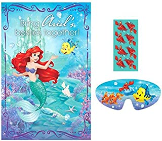 Party Game | Disney Ariel Dream Big Collection | Party Accessory