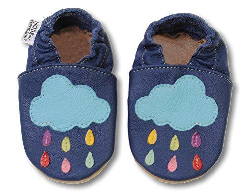 HOBEA-Germany Chaussures bébé Fille, Chaussures de Taille:24/25 (24-30 Monate), modèle Chaussures:Nuages