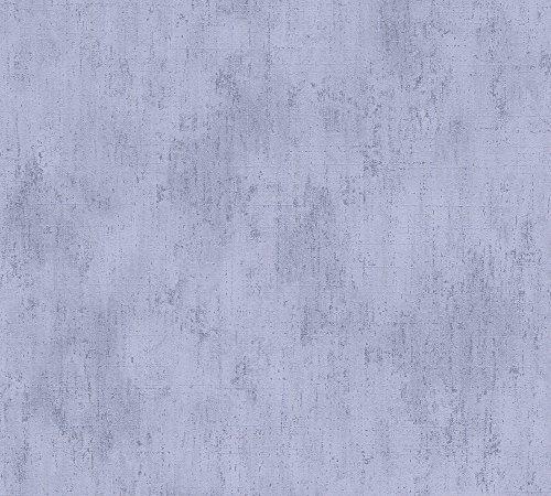 Metropolis by Michalsky Living Vliestapete South Beach Tapete Unitapete 10,05 m x 0,53 m Violett Made in Germany 304571 30457-1