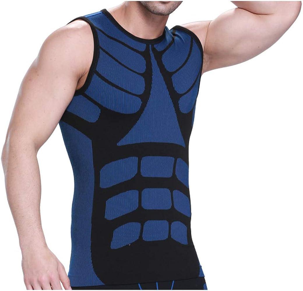 Men safety Slimming Shaper Vest Compression Ch Bodybuilding Burning Fat Over item handling