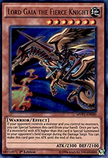 Yu-Gi-Oh! - Lord Gaia the Fierce Knight (MVP1-EN050) - The Dark Side of Dimensions Movie Pack - 1st Edition - Ultra Rare