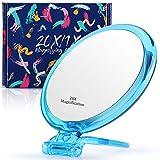 Specchio ingranditore 20x / 1x due lati, specchio ingranditore a doppia faccia con support...