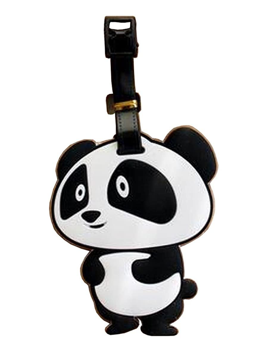 Lovely Cartoon Travel Accessories Travelling Luggage Tag/ID Holder Panda