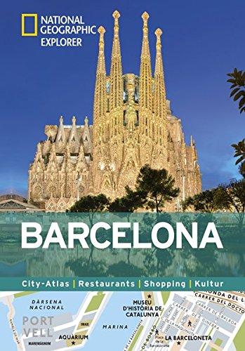 Barcelona erkunden mit handlichen Karten: Barcelona-Reiseführer für die schnelle Orientierung mit Highlights und Insider-Tipps. Barcelona entdecken ... Kultur (National Geographic Explorer)