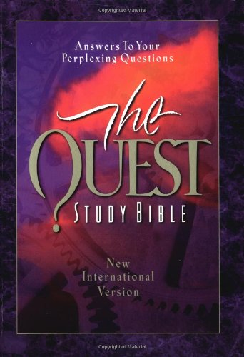 Compare Textbook Prices for Quest Study Bible, New International Version  ISBN 9780310924128 by Niv