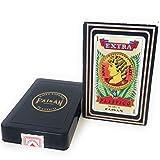 Spanish Playing Cards, Barajas Espanolas, Red Color, Color rojo Faisan