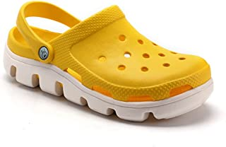 DSFKS Unisex Lightweight Garden Clog Water Slip On Shoes (H,39)
