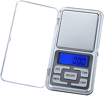 FY Home 200g Precision Digital Scales Mini Pocket Electronic scales for Jewelry Medicine Milk Powder 0.01 Weight (A)