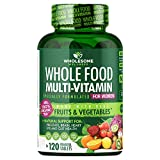Whole Food Multivitamin for Women - Natural Multi Vitamins, Minerals, Organic Extracts - Vegan...
