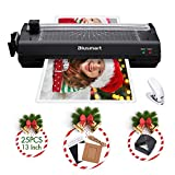 13 inches Laminator, Blusmart Multiple Function A3 Laminator with 25 Laminating Pouches,...