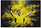 Leinwand Druck Poster Iker Casillas Fußball Fußball Bild