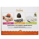 10 Foglio in PVC per preparazioni alimentari 30x40cm