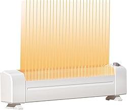 Convection Heaters Yxx@ Calefactor Portátil Eléctrico Calefactor Vertical Ventilador Calefactor de Aire Caliente Calefactor De Rápido Calentamiento Calentador de Espacio Portátil