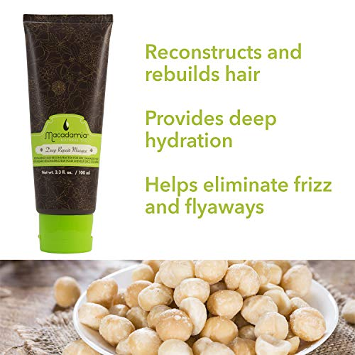 Macadamia Natural Oil Deep Repair Masque, 3.3 Fluid Ounce