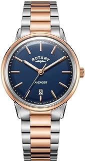 Rotary Mens Avenger | Stainless Steel Bracelet | Blue Dial | GB05342/05