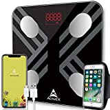 ActiveX (Australia) Savvy Plus Body Fat Scale - Rechargeable Digital Body Composition Body Fat Scale...