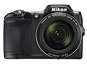 Nikon COOLPIX L840 Digital Camera with 38x Optical Zoom and Built-In Wi-Fi  Black
