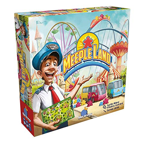 Asmodee Meeple Land, Familienspiel, Strategiespiel, Deutsch