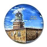 Imán para nevera 3D de Sweden Scania Lighthouse para pizarra blanca, cristal de recuerdo