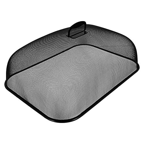 Hemoton Cubierta de Metal de Malla para Alimentos Carpas de Acero Inoxidable Pantalla de Redes de Alimentos Paraguas Tapa de Alimentos Antimoscas Mosquitos Insectos para Fiestas Aire