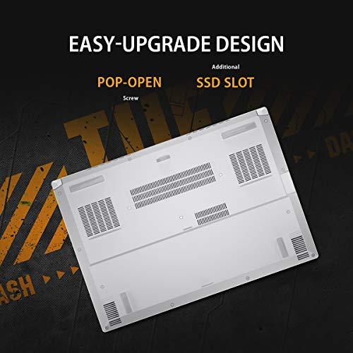 ASUS TUF DashF15 (2021), 15.6-inch (39.62 cms) FHD 144Hz, Intel Core i7-11370H 11th Gen, RTX3070 8GB Graphics Gaming Laptop (16GB RAM/512GB SSD/Office 2019/Windows 10/White/2 kg), FX516PR-HN109TS