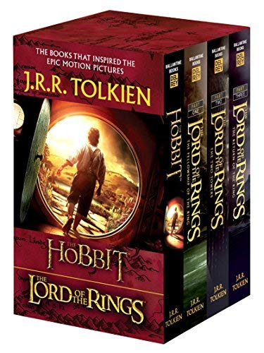 J.R.R. Tolkien 4-Book Boxed Set: The Hobbit and The Lord of the Rings (Movie Tie-in): The Hobbit, The Fellowship of the Ring, The Two Towers, The Return of the King by Tolkien, J.R.R. (Mti Edition) [MassMarket(2012)]