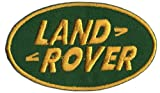 Logo Aufnäher / Iron on Patch ' Land Rover ' 7,5 x 4,5 cm