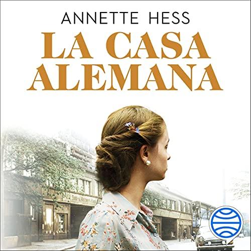 Diseño de la portada del título La casa alemana