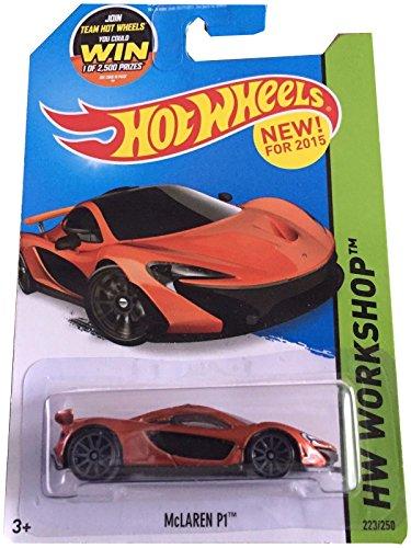 Hot Wheels 2015 HW Workshop McLaren P1 223/250, Orange