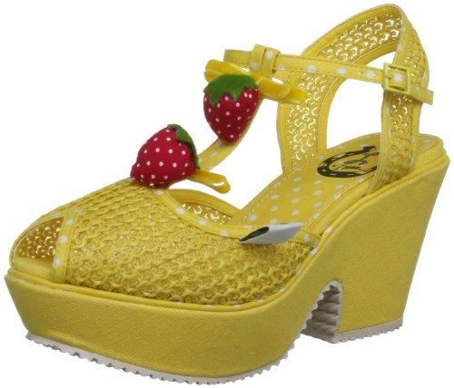 Miss L Fire Sundae SUNYEL38, Damen Sandalen, Gelb (Yellow), 38 EU / 5 UK