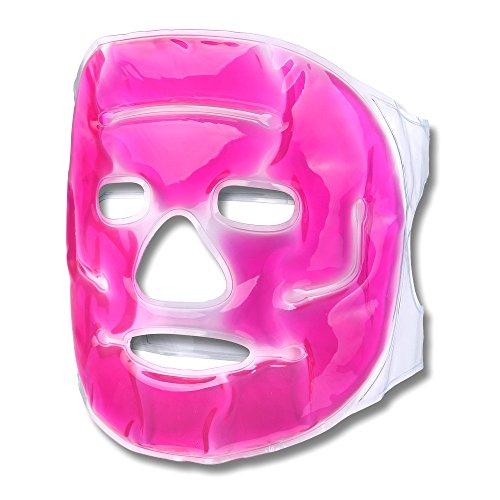 Schramm Máscara refrigerante Máscara Facial Rosa Máscara refrigerante de Ojos Máscara de Gel
