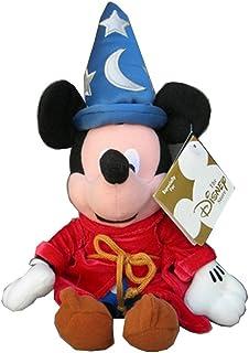 Disney Fantasia 2000 Sorcerer Mickey Mouse Bean Bag Plush Toy 12''