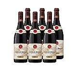 Côtes du Rhône Rouge 2017 - Maison Guigal - Vin AOC Rouge de la Vallée du Rhône - Cépages Grenache, Syrah - Lot de 6x75cl