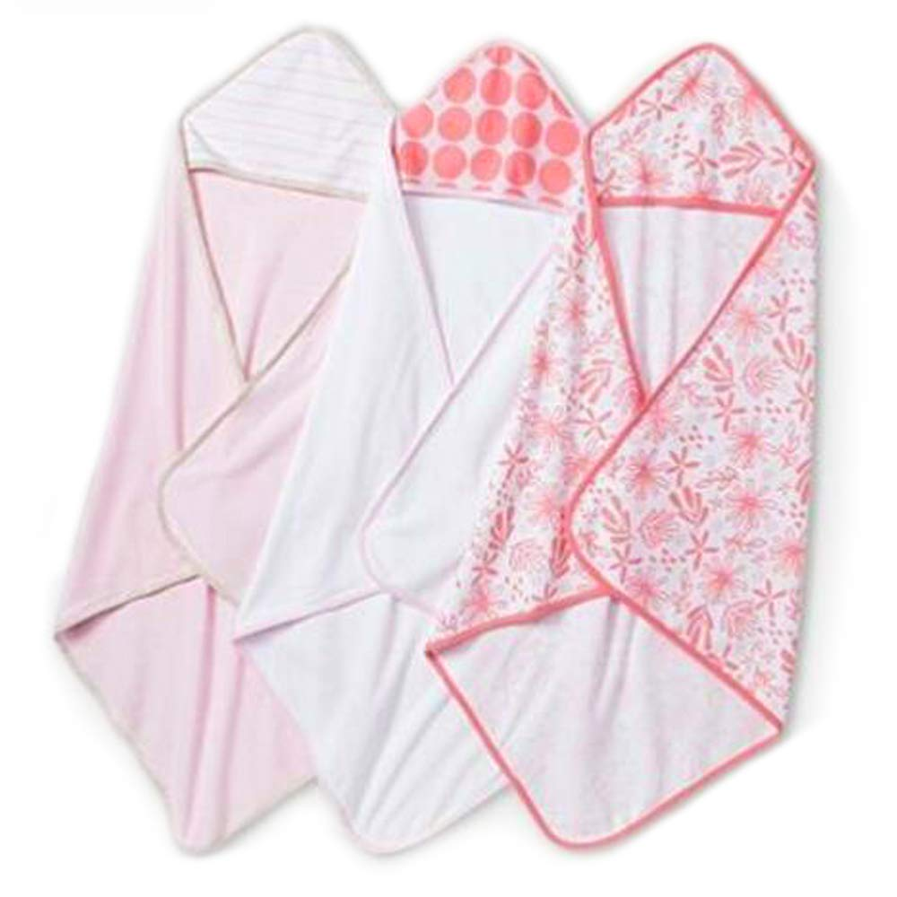 Cloud Island Limited time for free shipping Infant Hooded Towels Wh Lightweight Bath Peach Baby New product type