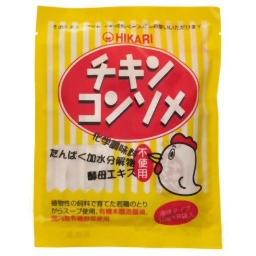 光食品 光 チキンコンソメ 10g*8袋 ×10セット