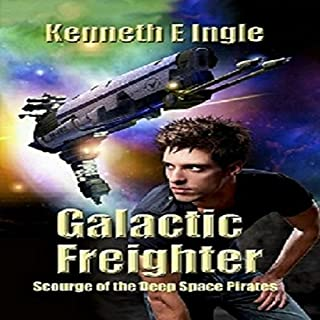 Galactic Freighter audiobook cover art