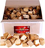Zorestar Oak Apple Smoker Wood Chunks - BBQ Cooking Chunks for All Smokers - 15lb of Natural Wood...