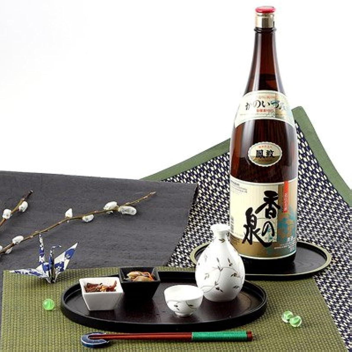 八百屋同種のシート近江の酒蔵 伝統の酒 香の泉 鳳紋 1800ml スッキリした味わいのやや辛口のお酒