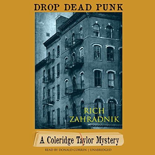 Drop Dead Punk audiobook cover art