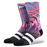 Stance Chicken Scratch Socks - Navy Large